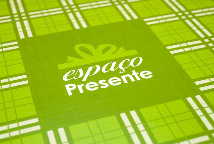 Logo Caixa Espaço Presente